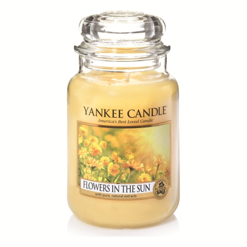 Yankee Candle Flowers In The Sun Large Jar Geurkaars