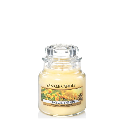 Yankee Candle Flowers In The Sun Small Jar Geurkaars