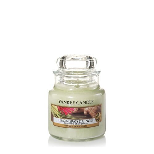 Yankee Candle Lemongrass & Ginger Small Jar Geurkaars