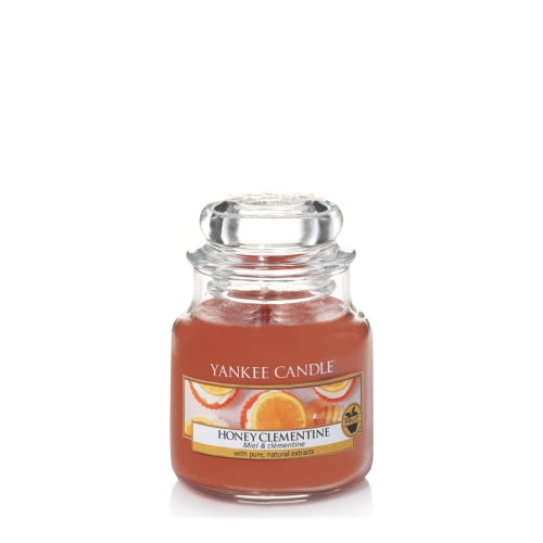 Yankee Candle Honey Clementine Small Jar Geurkaars
