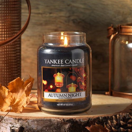 Yankee Candle Autumn Night Large Jar Geurkaars