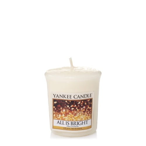 Yankee Candle All is Bright Votive Geurkaars