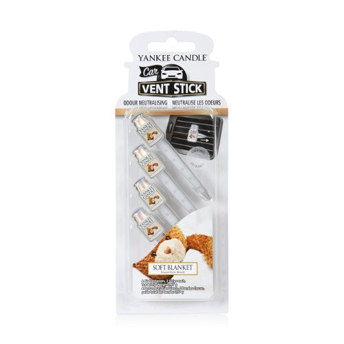 Yankee Candle Soft Blanket Vent Sticks