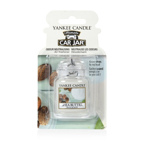 Yankee Candle Shea Butter Car Jar Ultimate Luchtverfrisser