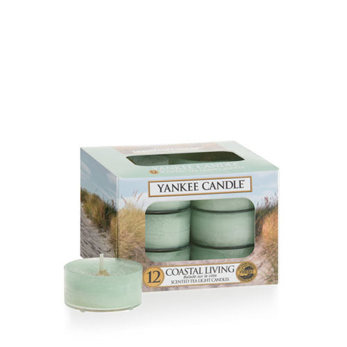 Yankee Candle Coastal Living Tea Lights Geurkaarsen