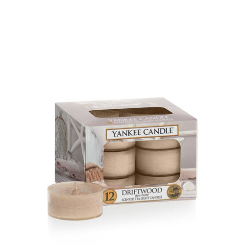 Yankee Candle Driftwood Tea Lights