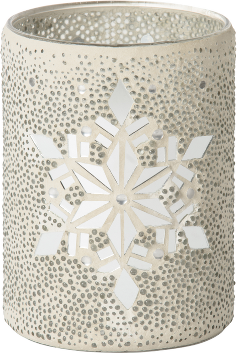 Yankee Candle Twinkling Snowflake Jar Holder