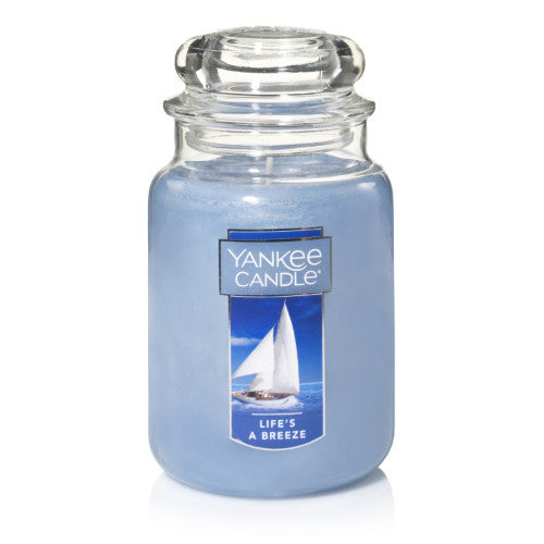 Yankee Candle Life's A Breeze Large Jar Geurkaars Limited Edition
