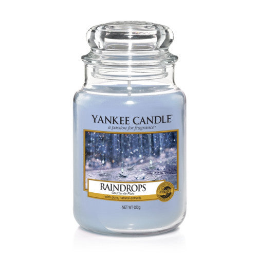 Yankee Candle Raindrops Large Jar Geurkaars Limited Edition