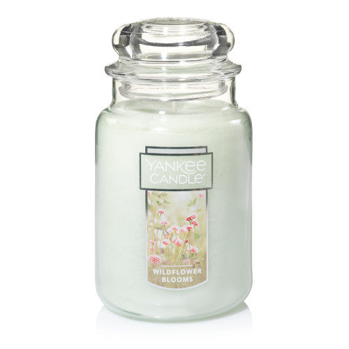 Yankee Candle Wildflower Blooms Large Jar Geurkaars Limited Edition