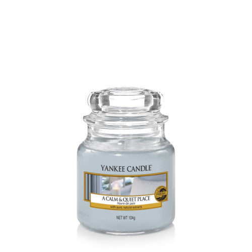 Yankee Candle A Calm & Quiet Place Small Jar Geurkaars