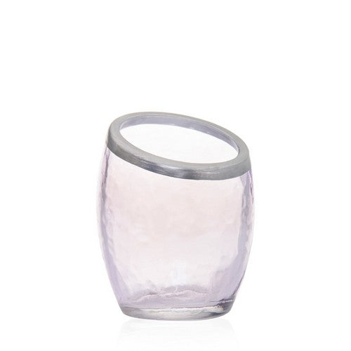 Yankee Candle Pearlescent Crackle Purple Votive Holder