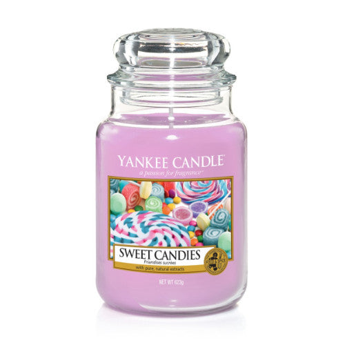 Yankee Candle Sweet Candies Large Jar Geurkaars Limited Edition