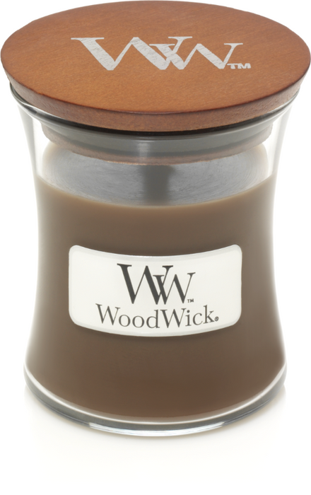 WoodWick Amber & Incense Mini Candle