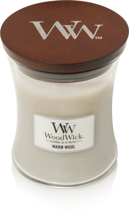 WoodWick Warm Wool Mini Candle