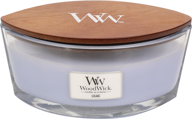 WoodWick Lilac Ellipse Candle