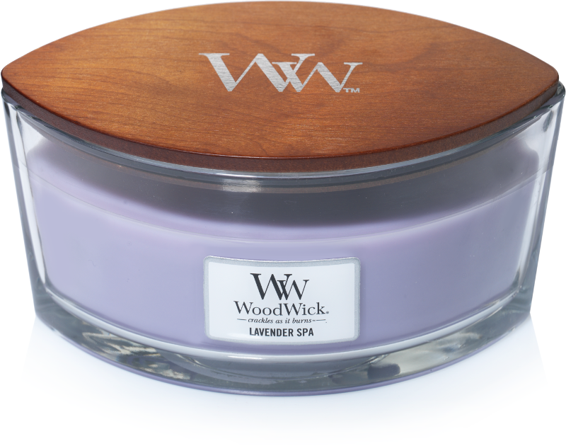 WoodWick Lavender Spa Ellipse Candle
