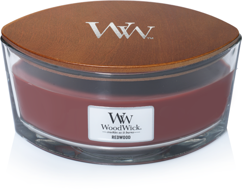 WoodWick Redwood Ellipse Candle