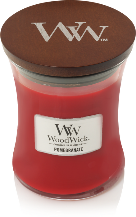 WoodWick Pomegranate Medium Candle