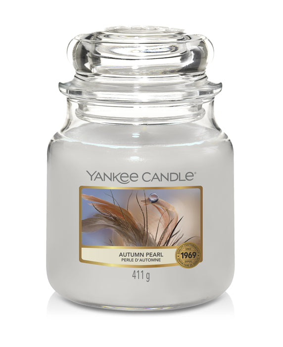 Yankee Candle Autumn Pearl  Medium Jar