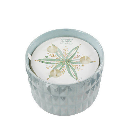 Yankee Candle Winter Wish Fresh Forest 3-Wick Ceramic