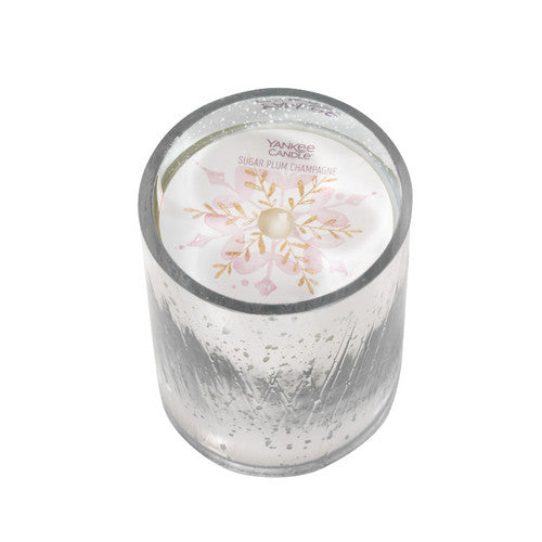 Yankee Candle Winter Wish Sugar Plum Champagne Tumbler