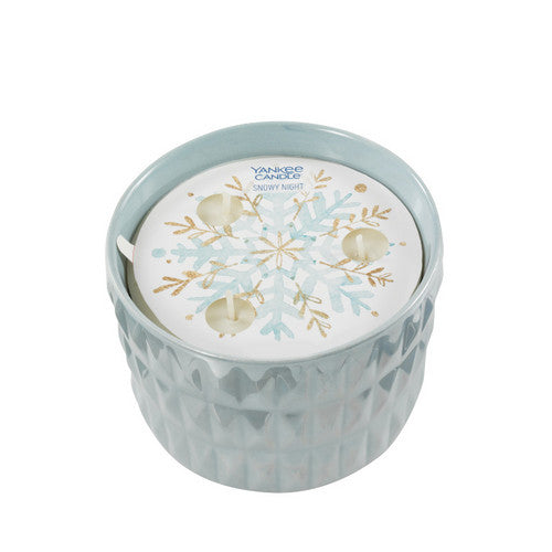 Yankee Candle Winter Wish Snowy Night 3-Wick Ceramic