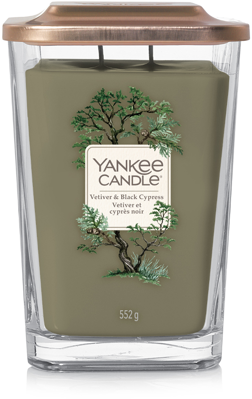 Yankee Candle Vetiver & Black Cypress Large Elevation