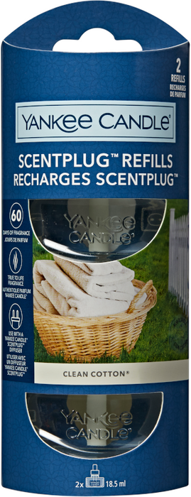 Yankee Candle Clean Cotton Electric Fragrance Refill
