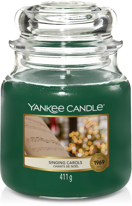 Yankee Candle Singing Carols Medium Jar