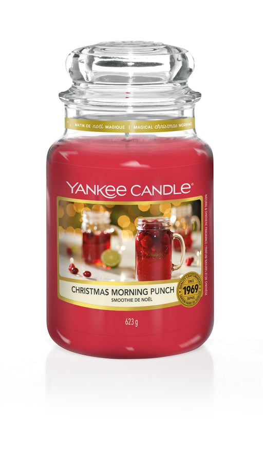 Yankee Candle Christmas Morning Punch Large Jar