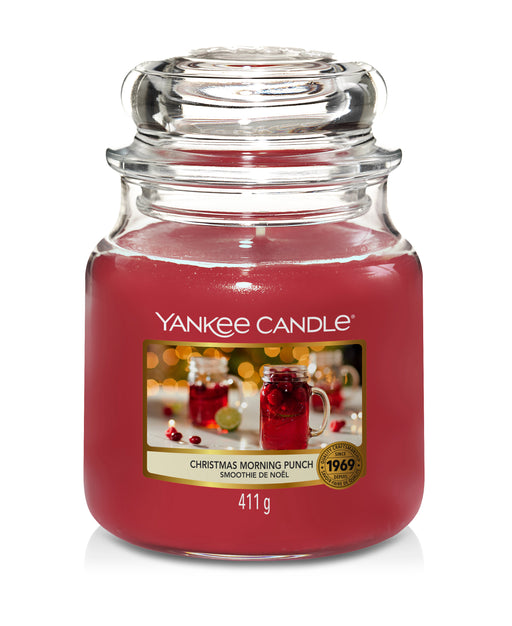 Yankee Candle Christmas Morning Punch Medium Jar