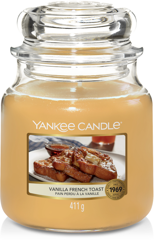Yankee Candle Vanilla French Toast Medium Jar