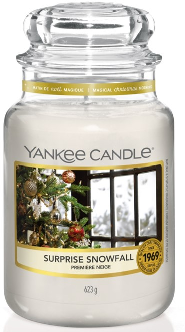 Yankee Candle Surprise Snowfall Large Jar