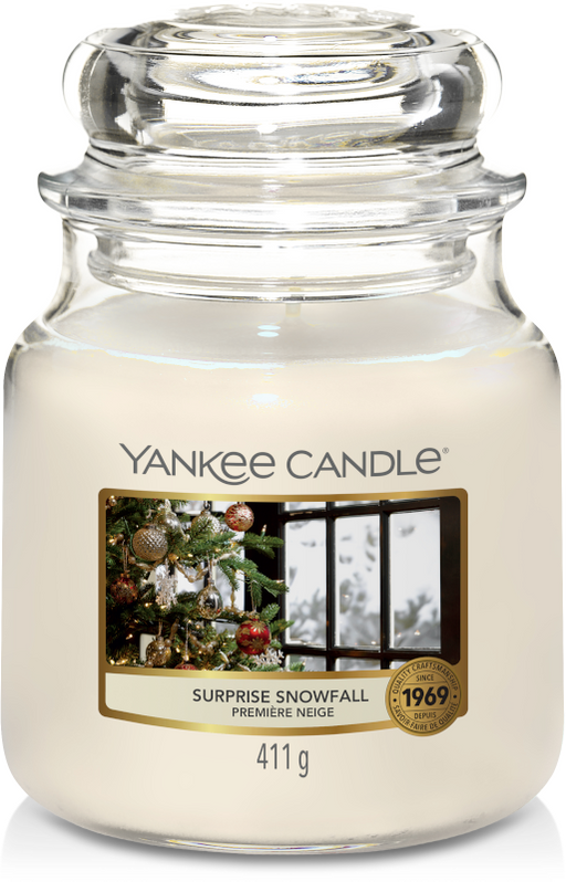 Yankee Candle Surprise Snowfall Medium Jar