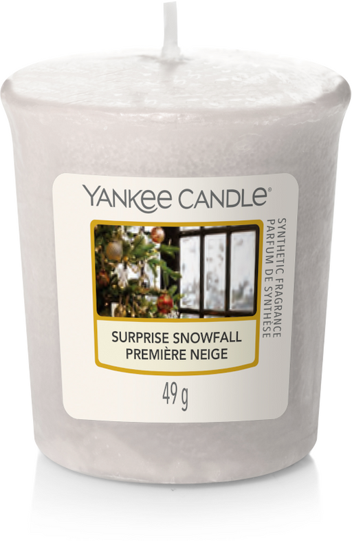 Yankee Candle Surprise Snowfall Votive