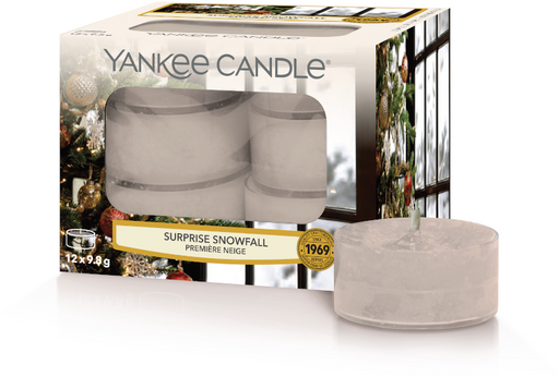 Yankee Candle Surprise Snowfall Tealights