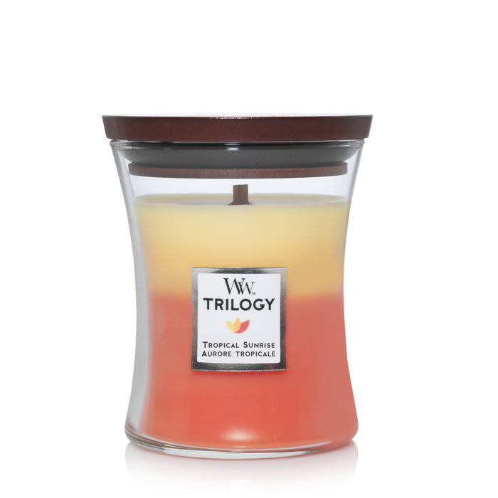 WoodWick Tropical Sunrise Trilogy Medium Candle