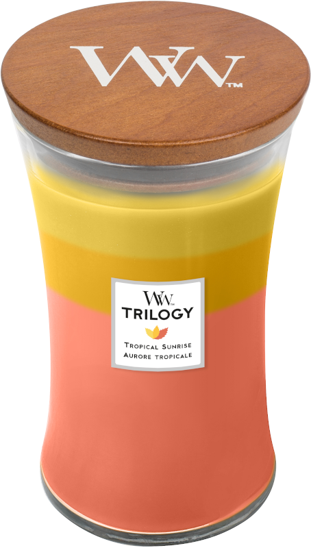 WoodWick Tropical Sunrise Trilogy Large Candle