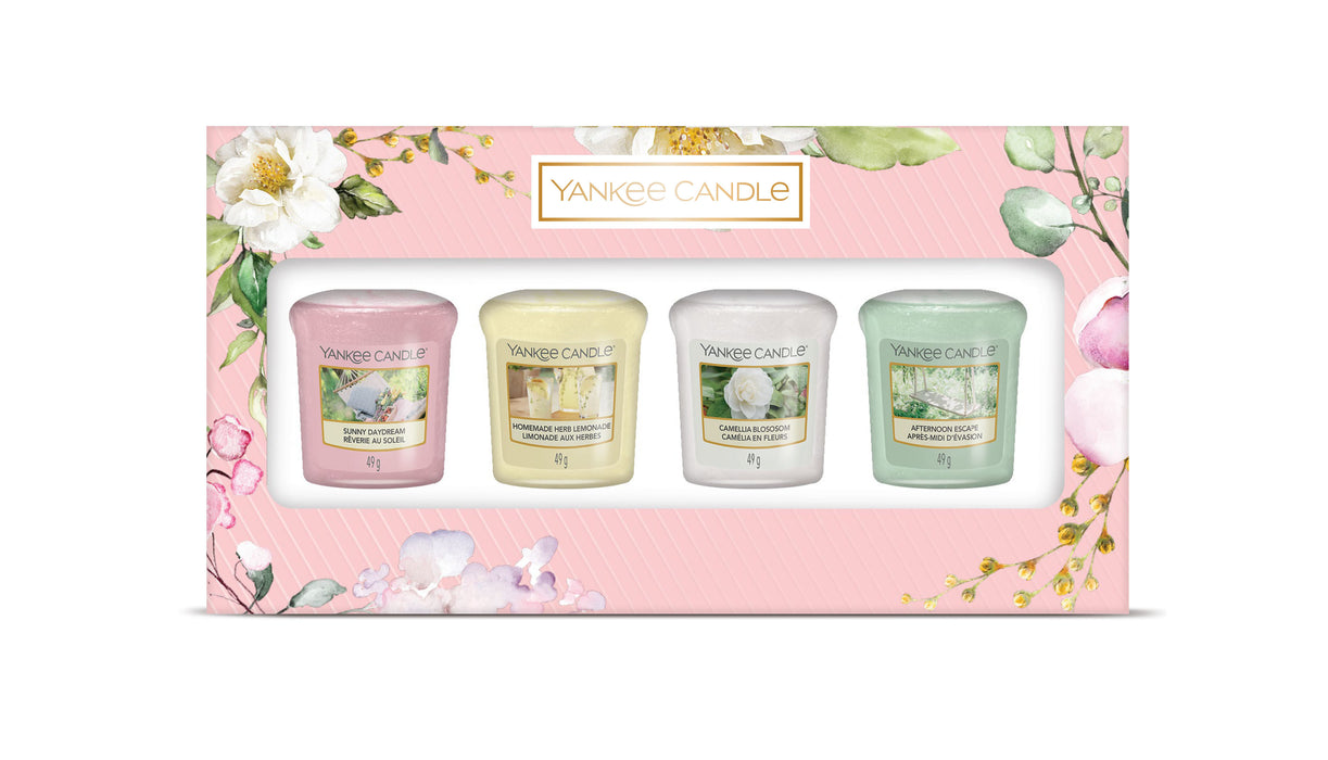 Yankee Candle Garden Hideaway Four Votive Gift Set
