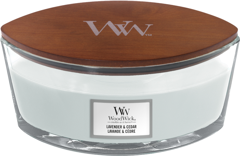 WoodWick Lavender & Cedar Ellipse Candle