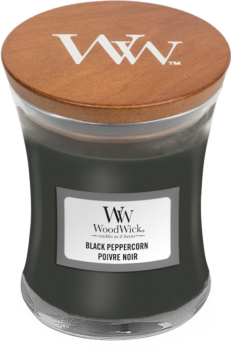WoodWick Black Peppercorn Mini Candle