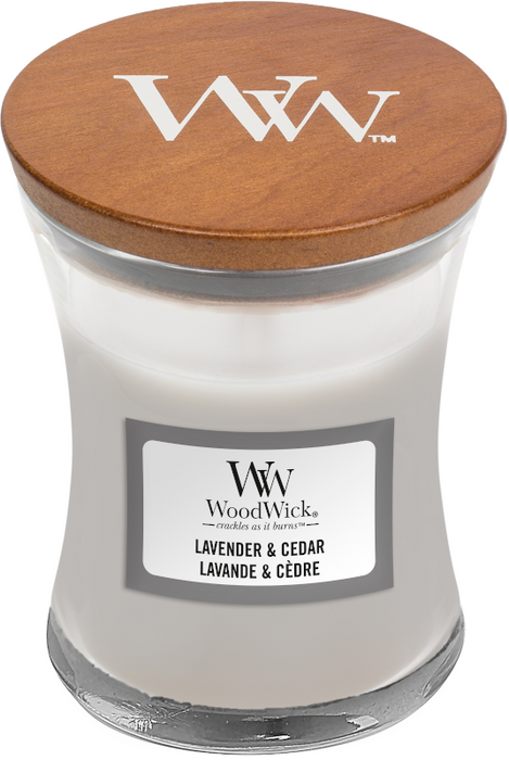 WoodWick Lavender & Cedar Mini Candle