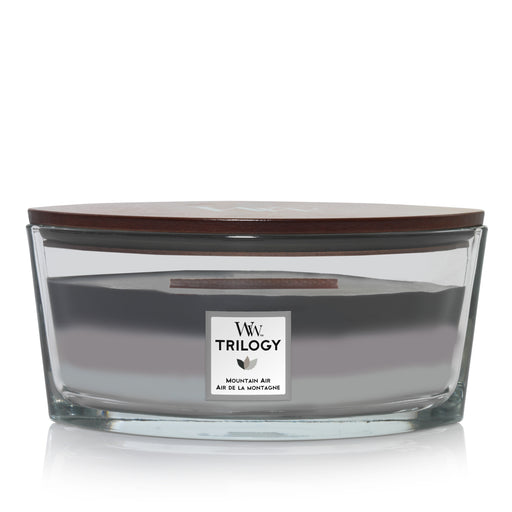 Woodwick Mountain Air Trilogy Ellipse Candle
