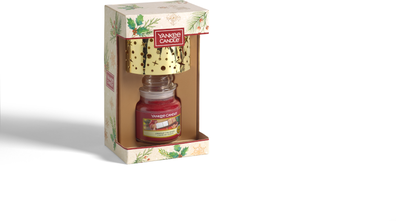 Yankee Candle Magical Christmas Morning Small jar & Shade