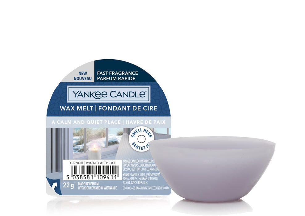 Yankee Candle A Calm & Quiet Place New Wax Melt