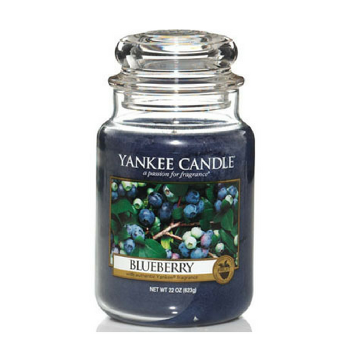 Yankee Candle Blueberry Large Jar Geurkaars Limited Edition