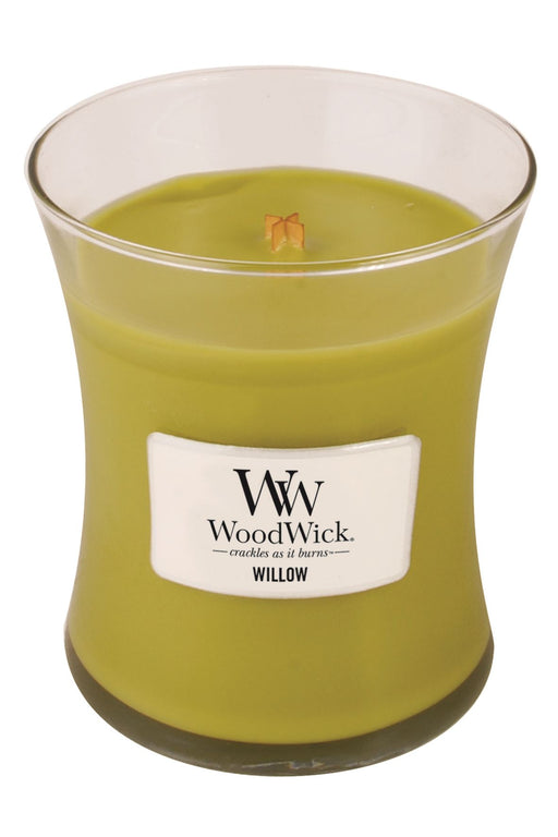 WoodWick Willow Medium Geurkaars