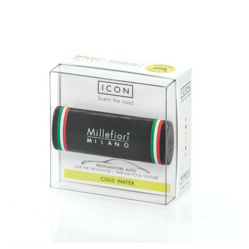 Millefiori Milano Car Air Freshener Urban Cold Water