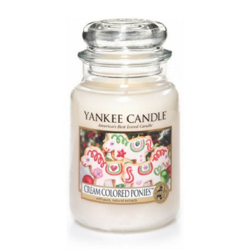 Yankee Candle Cream Coloured Ponies Geurkaars Limited Edition